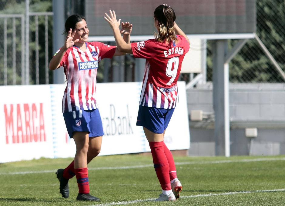 Temporada 2018-2019 | Atlético de Madrid Femenino - Logroño | Chidiac y Esther