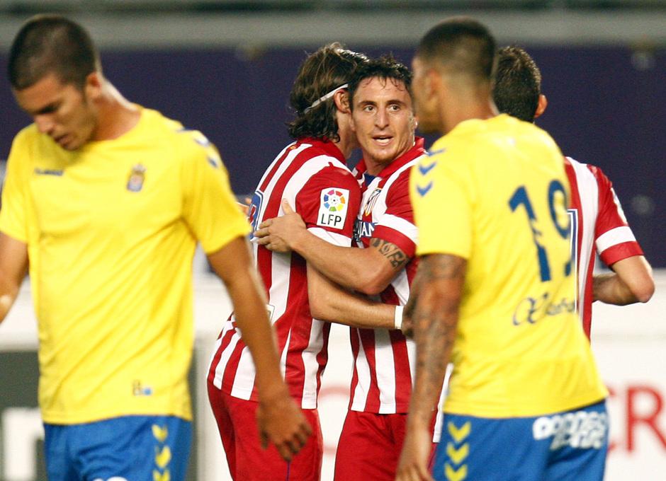 Temporada 13/14 Celebración gol Cristian Rodríguez