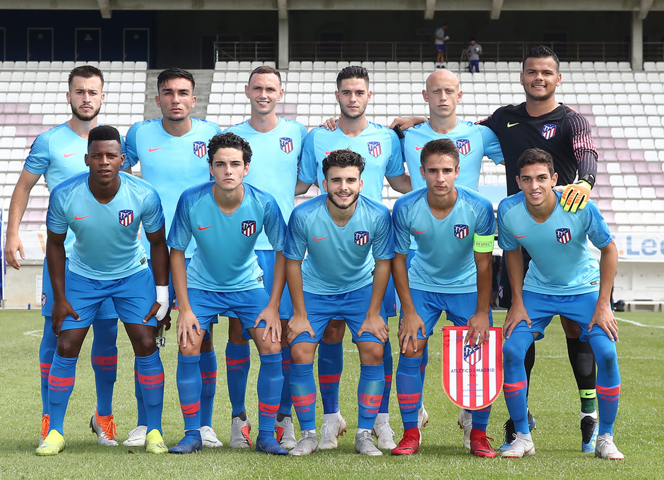 Temporada 18/19 | AS Mónaco - Atleti | Once inicial Youth League |