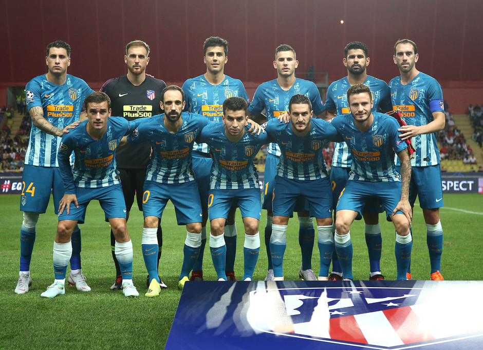 Temporada 18/19 | AS Mónaco - Atleti | Champions League | Once inicial