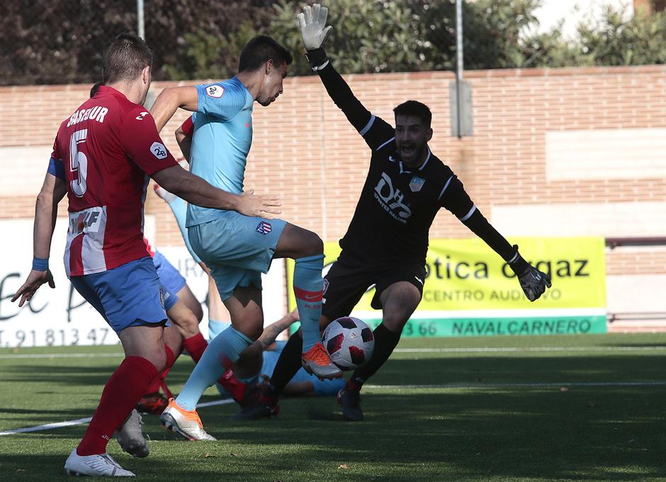 Temp. 17-18 | Navalcarnero - Atlético de Madrid B | Gol Tachi
