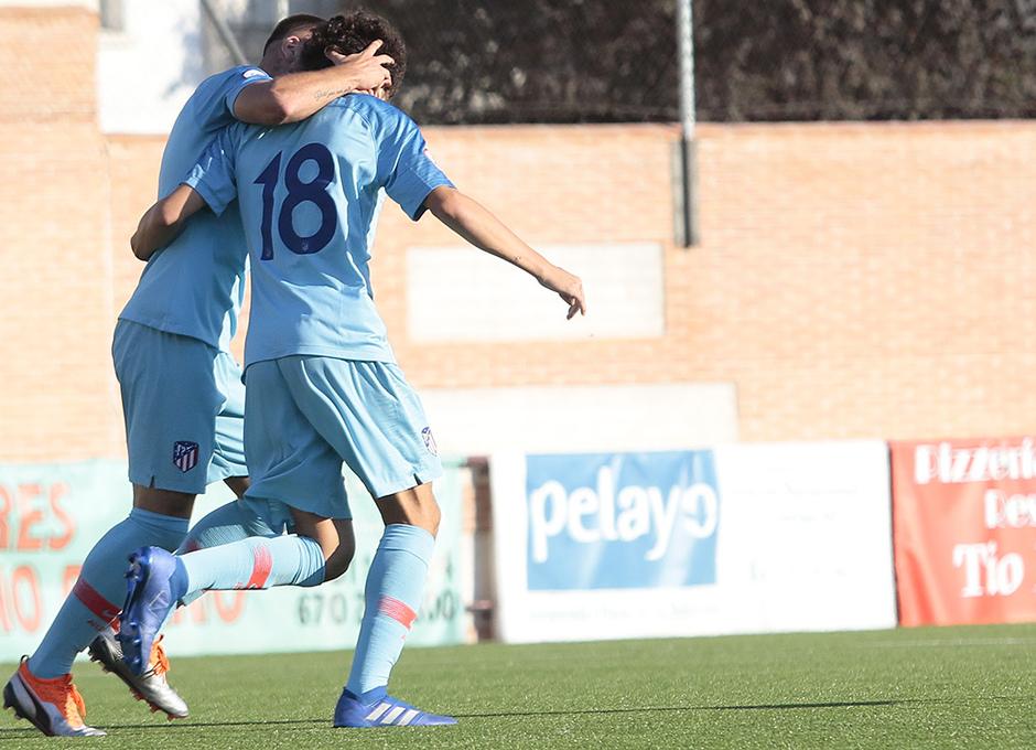Temp. 17-18 | Navalcarnero - Atlético de Madrid B | Sergio Camello celebración