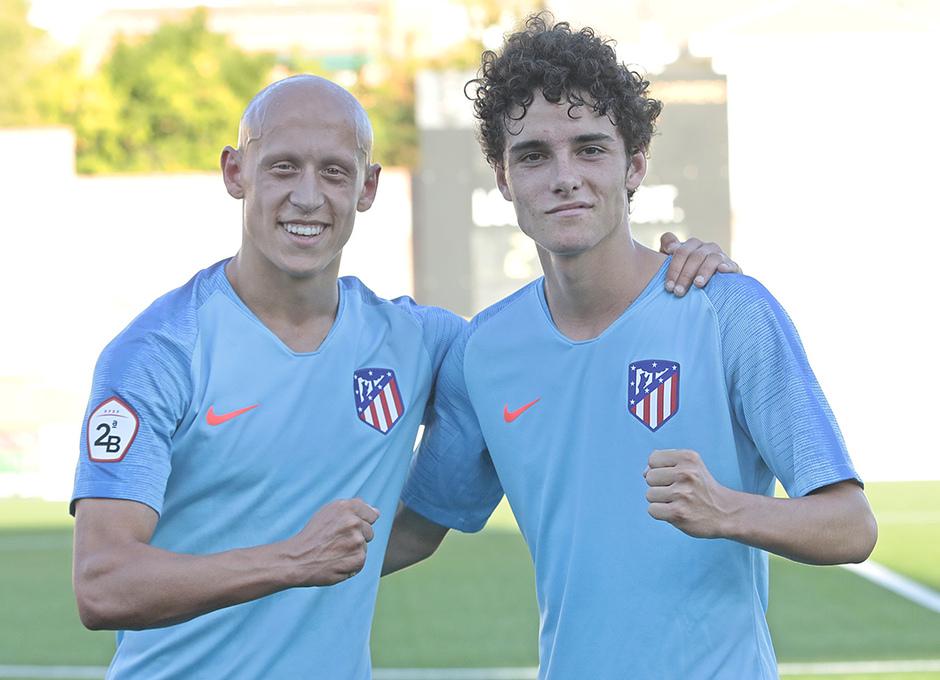 Temp. 17-18 | Atlético de Madrid B | Víctor Mollejo y Sergio Camello