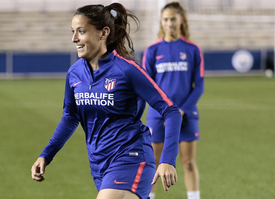 Temporada 18/19 | Entrenamiento en el Academy Stadium del Atleti Femenino | Olga García