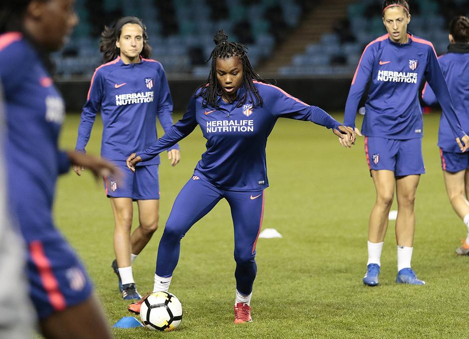 Temporada 18/19 | Entrenamiento en el Academy Stadium del Atleti Femenino | Ludmila