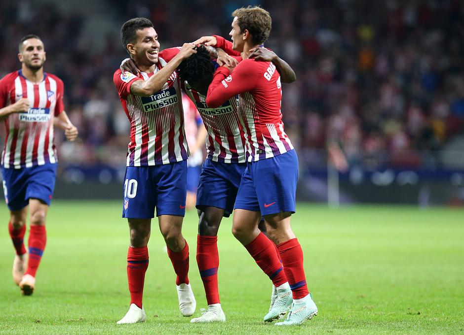 Temporada 2018-2019 | Atlético de Madrid- SD Huesca | Thomas Correa Griezmann