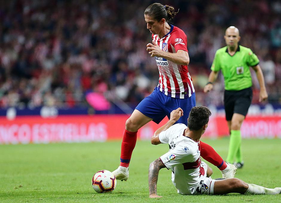 Temporada 2018-2019 | Atlético de Madrid- SD Huesca | Filipe Luis