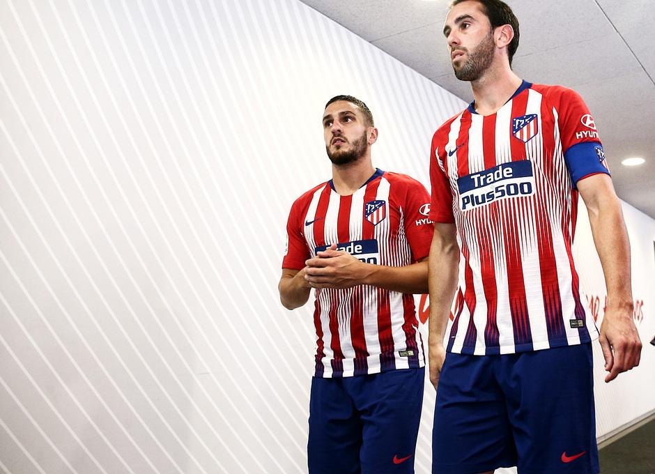 temporada 18/19. Partido Atlético de Madrid Huesca. La otra mirada