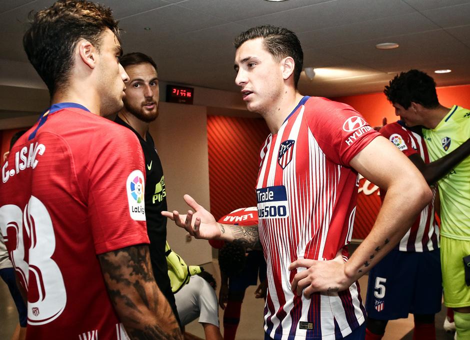 Temporada 2018-2019 | Atlético de Madrid - Huesca | La otra mirada | Giménez y Carlos Isaac