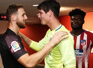 Temporada 2018-2019 | Atlético de Madrid - Huesca | La otra mirada | Oblak y Werner