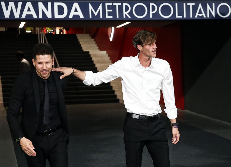 Temporada 2018-2019 | Atlético de Madrid - Huesca | La otra mirada | Leo Franco y Simeone