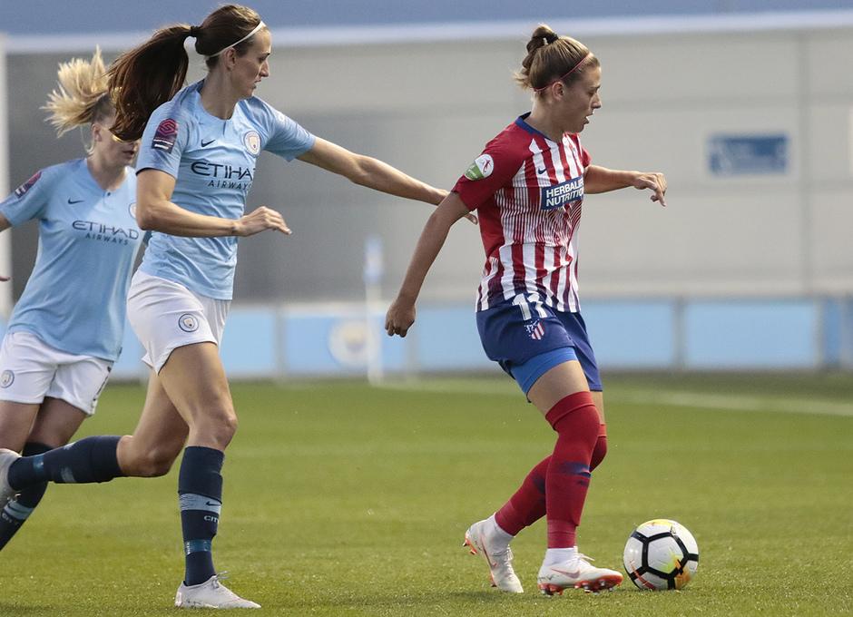 Temporada 18/19 | Manchester City Femenino - Atético Femenino | Carmen Menayo