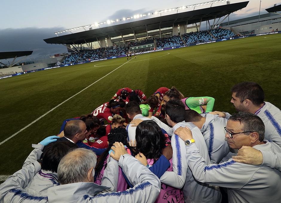 Temporada 18/19 | Manchester City Femenino - Atético Femenino | Grupo