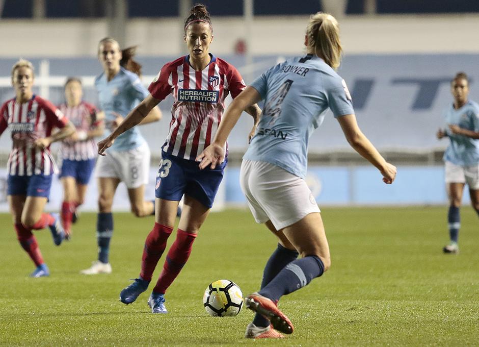 Temporada 18/19 | Manchester City Femenino - Atético Femenino | Jennifer Hermoso