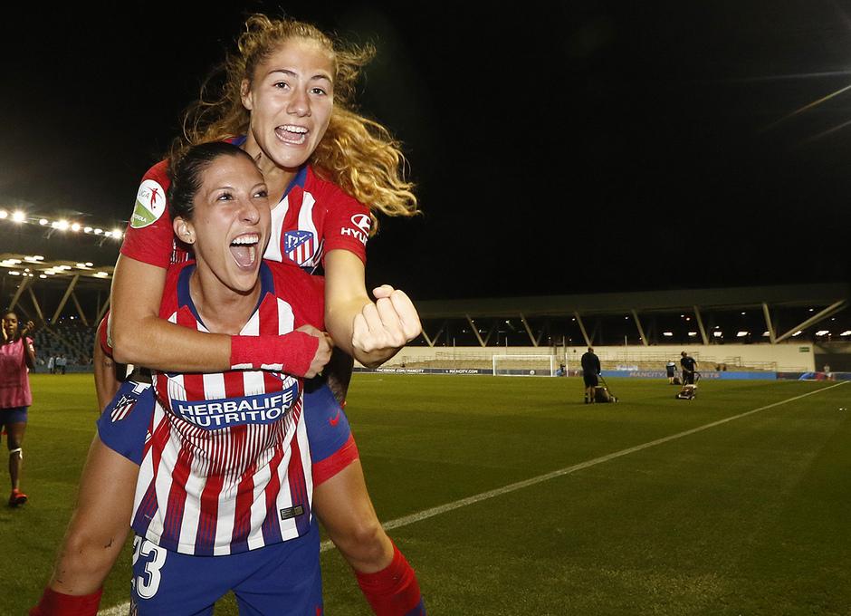 Temporada 18/19 | Manchester City Femenino - Atético Femenino | Laia y Jennifer Hermoso