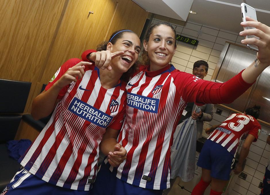 Temporada 18/19 | Manchester City Femenino - Atético Femenino | Andrea Falcón y Olga García
