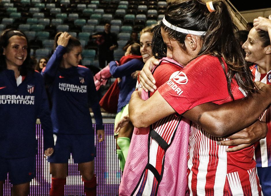 Temporada 18/19 | La otra mirada Manchester City - Atlético de Madrid Femenino | Kenti