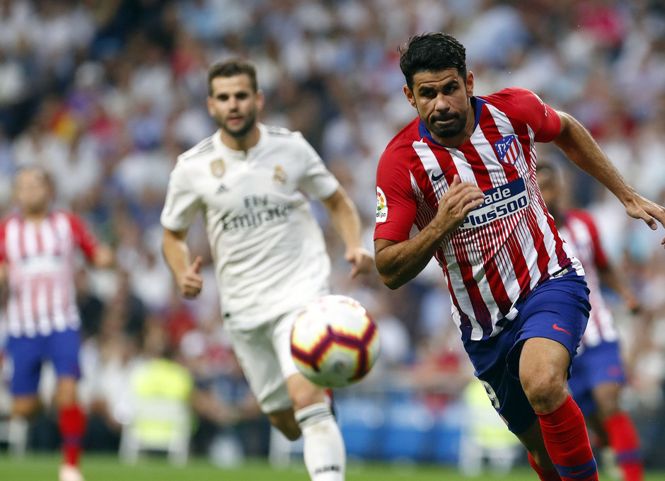 Temporada 2018-2019 | Real Madrid -Atlético de Madrid | Diego Costa