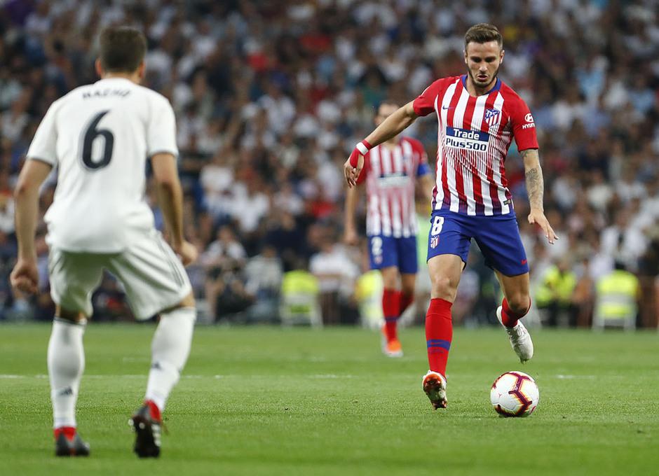 Temporada 2018-2019   Real Madrid -Atlético de Madrid   Saúl Ñíguez