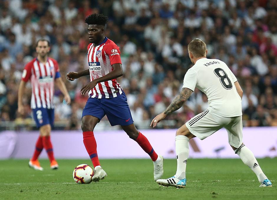 Temporada 2018-2019   Real Madrid -Atlético de Madrid   Thomas