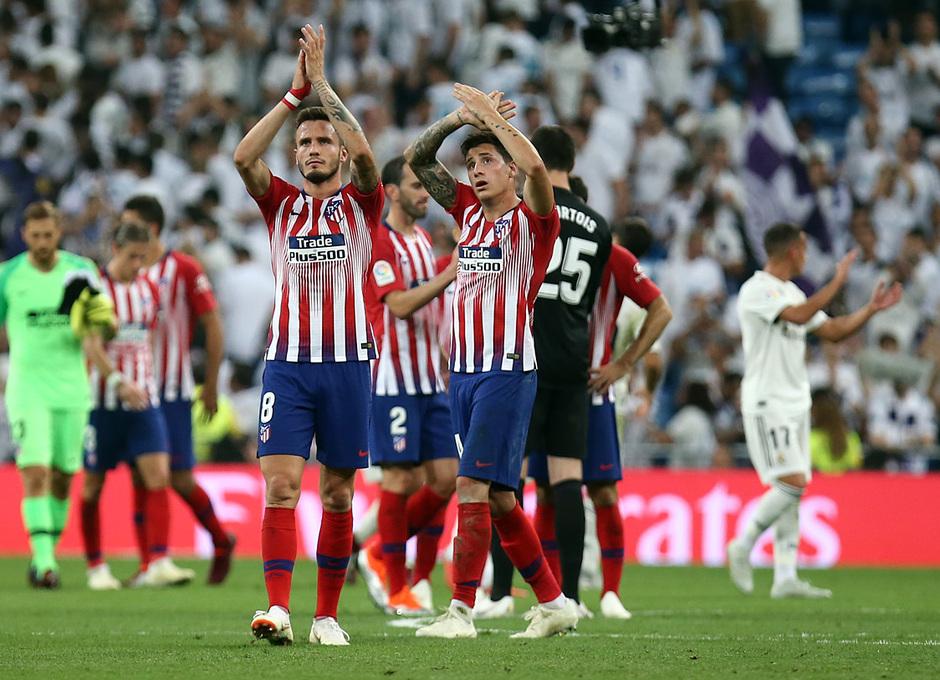 Temporada 2018-2019 | Real Madrid -Atlético de Madrid | Saúl y Giménez