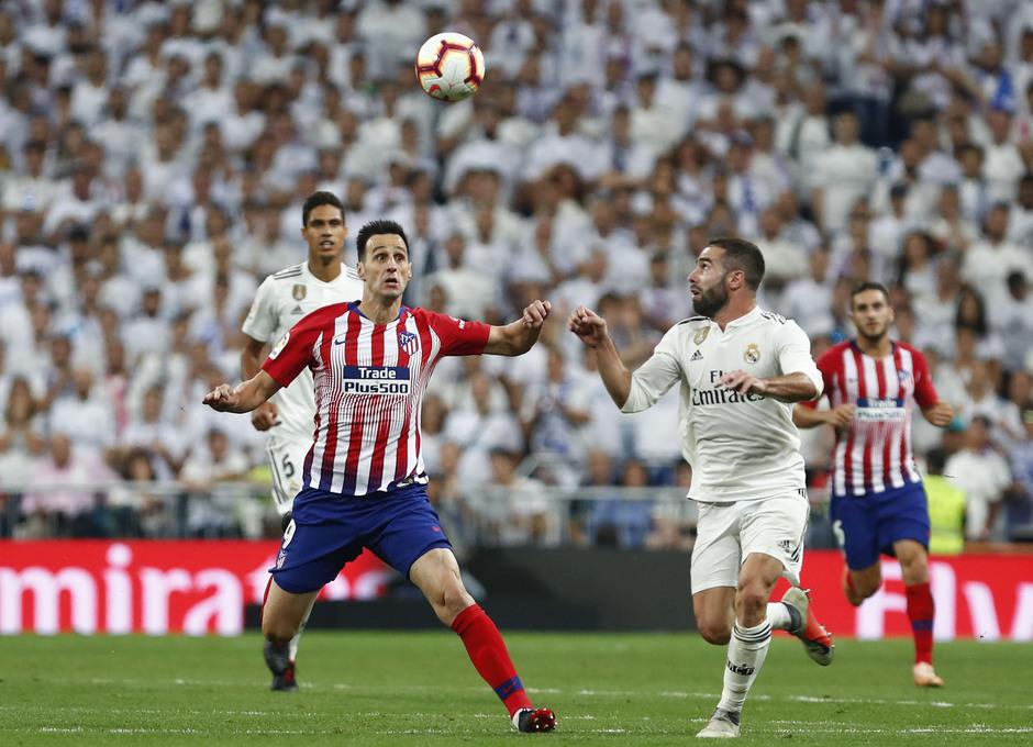 Temporada 2018-2019   Real Madrid -Atlético de Madrid   Kalinic