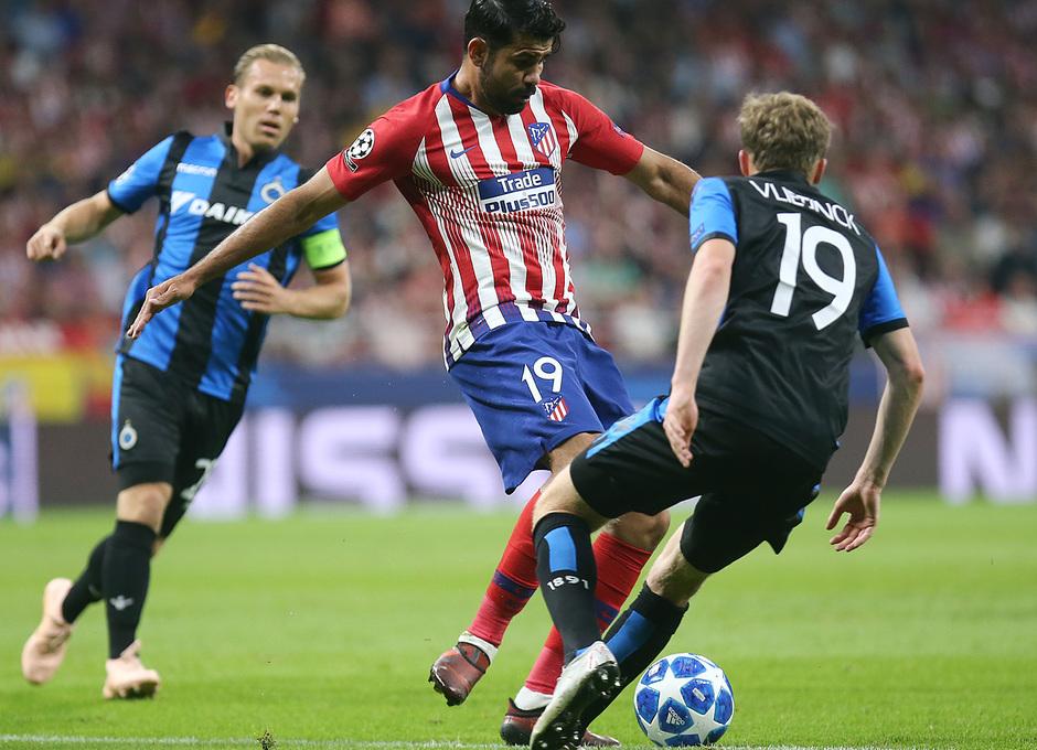 Temporada 2018-2019 | Atlético de Madrid - Brujas | Diego Costa