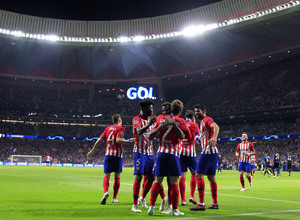 Temporada 2018-2019 | Atlético de Madrid - Brujas | Celebración gol Griezmann