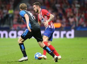 Temporada 2018-2019 | Atlético de Madrid - Brujas | Saúl