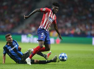 Temporada 2018-2019 | Atlético de Madrid - Brujas | Thomas