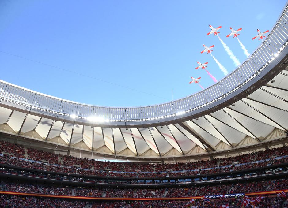 Temporada 2018-2019 | Atlético de Madrid - Betis | Patrulla Águila