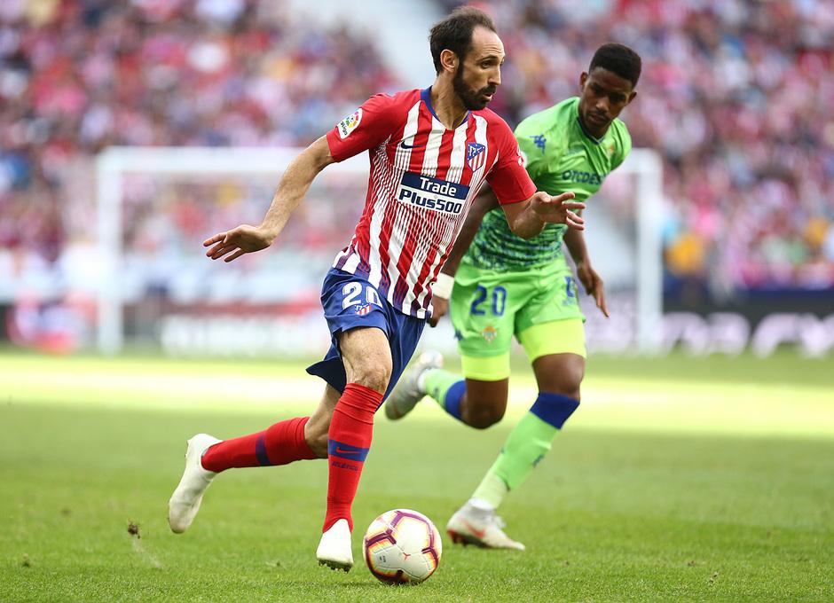 Temporada 2018-2019   Atlético de Madrid - Betis   Juanfran