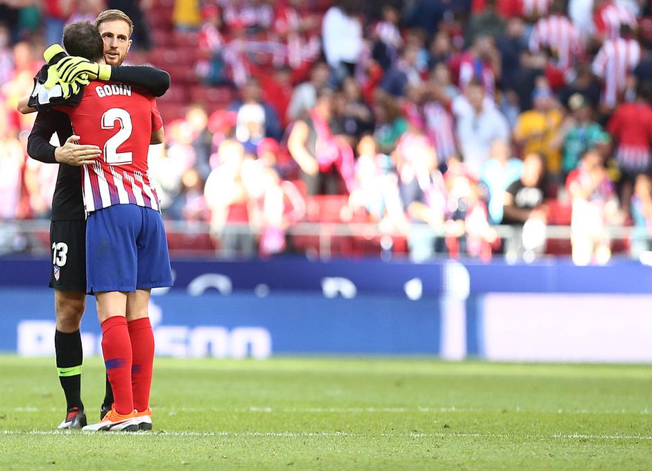 Temporada 2018-2019   Atlético de Madrid - Betis   Godín y Oblak