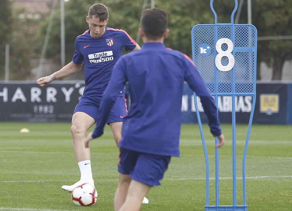 Temporada 18/19 | Entrenamiento del primer equipo | 12/10/2019 | Borja Garcés