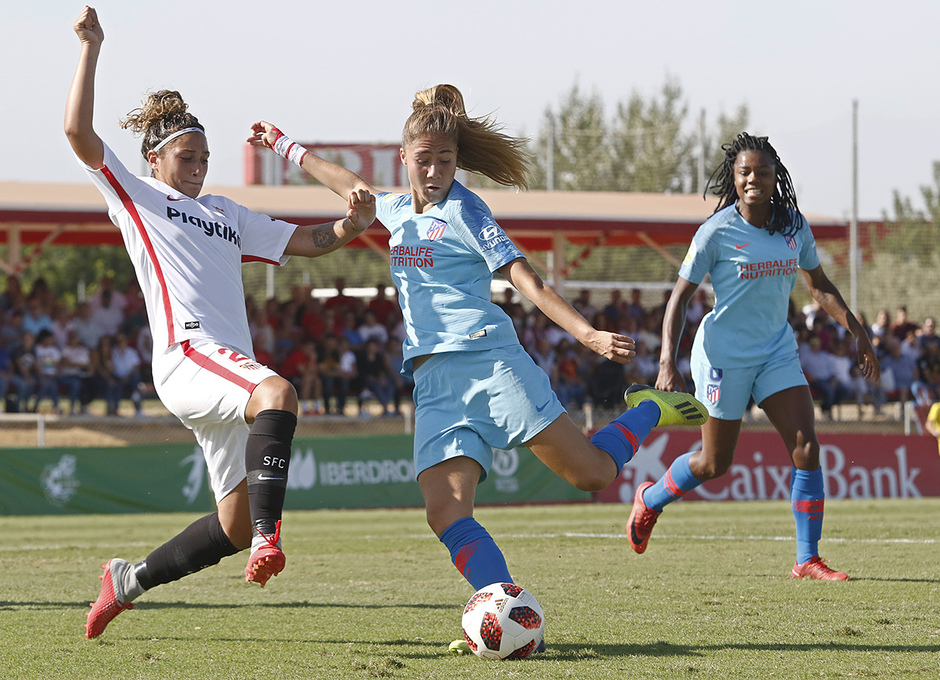 Temporada 18/19 | Liga Iberdrola | Sevilla - Atleti | Laia