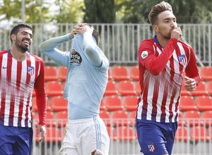 Temporada 18/19 | Atlético de Madrid B - Celta B | Darío Poveda