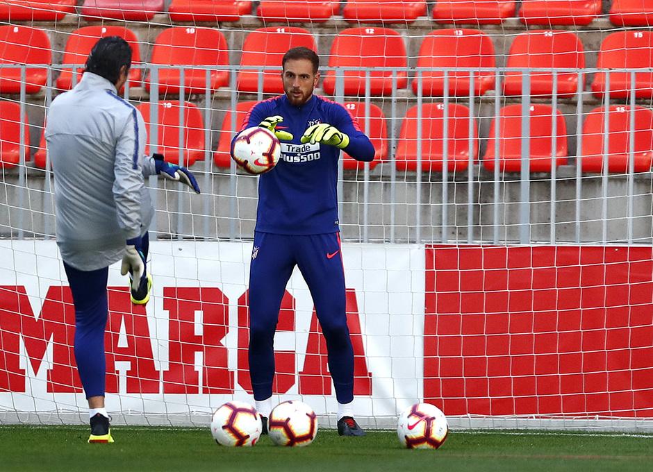 Temporada 2018-2019 | Entrenamiento Ciudad Deportiva Wanda | Oblak