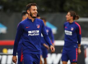 Temporada 2018-2019 | Entrenamiento Ciudad Deportiva Wanda | Saúl