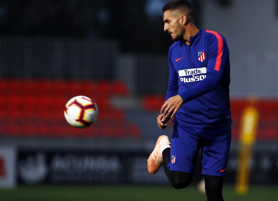 Temporada 2018-2019 | Entrenamiento Ciudad Deportiva Wanda | Koke