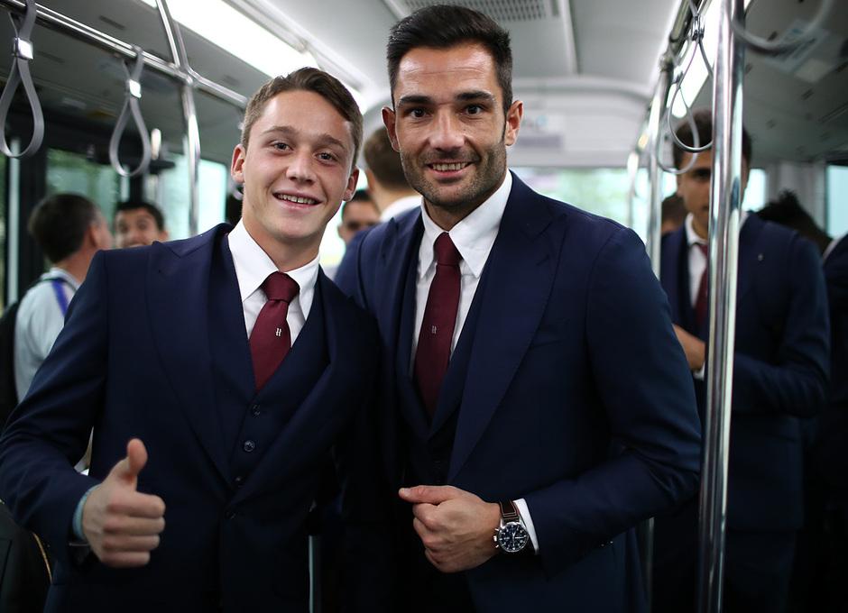Temporada 18/19 | Villarreal - Atleti | Viaje | Borja Garcés y Adán