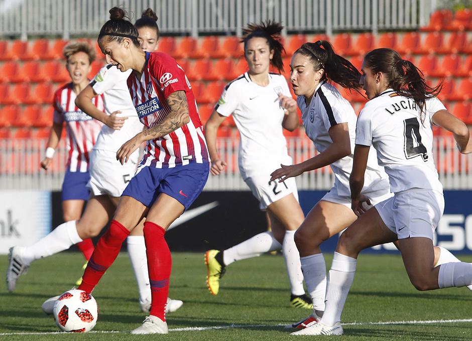 Temporada 18/19 | Atlético de Madrid Femenino - Madrid CFF | Jenni Hermoso