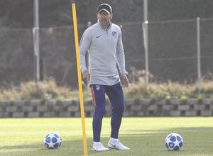 Temporada 18/19 | Entrenamiento del primer equipo | 23/10/2018 | Simeone