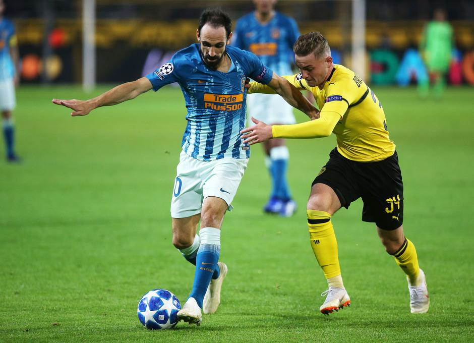 Temporada 2018-2019 | Borussia Dortmund - Atlético de Madrid | Juanfran