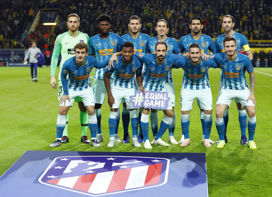 Temporada 2018-2019 | Borussia Dortmund - Atlético de Madrid | Once