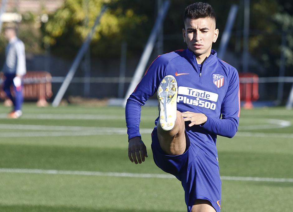 Temporada 18/19 | Entrenamiento del primer equipo | 25/10/2018 | Correa