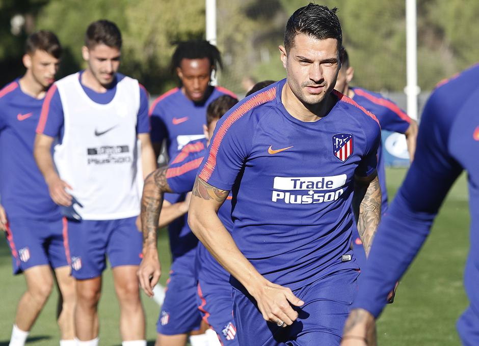 Temporada 2018-2019 | Entrenamiento Ciudad Deportiva Wanda | Vitolo