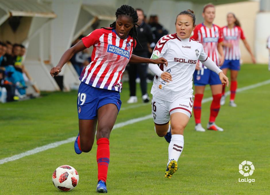 Temporada 2018-2019 | Fundación Albacete - Atlético de Madrid | Ludmila