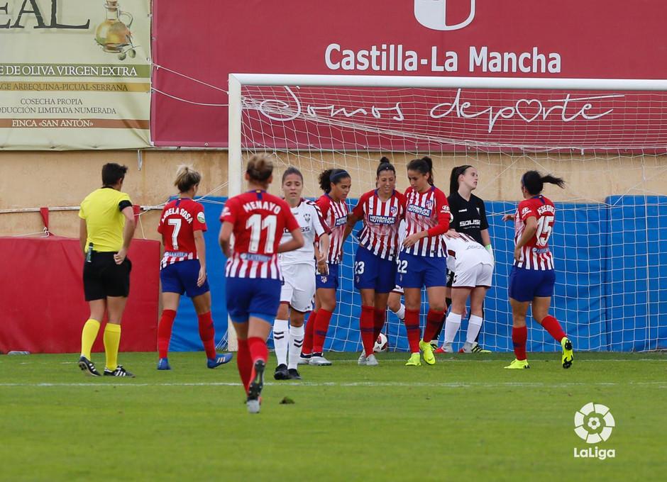 Temporada 2018-2019 | Fundación Albacete - Atlético de Madrid | Celebración gol Jenni