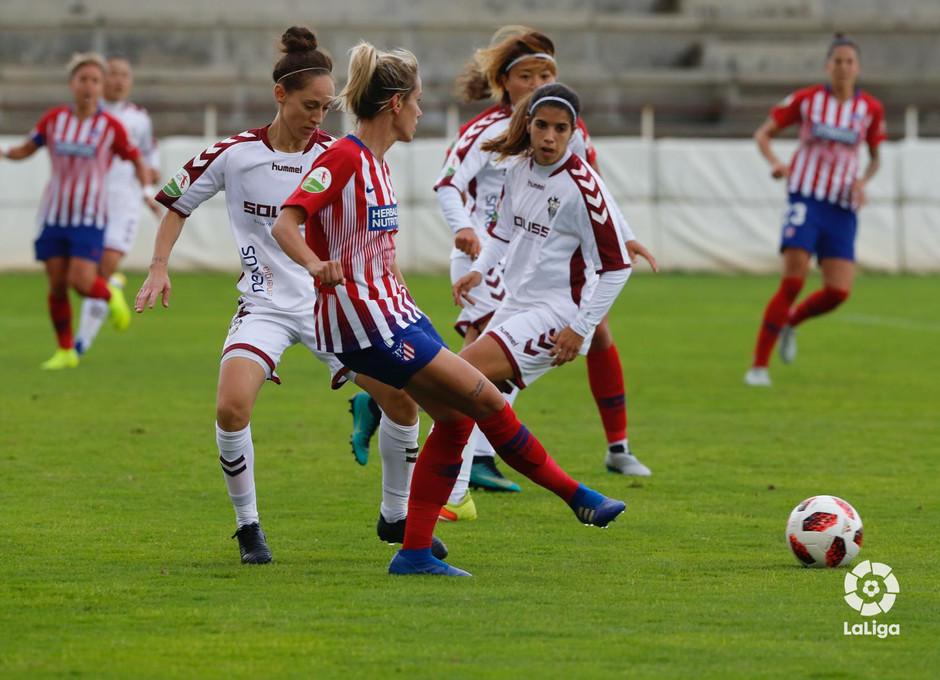 Temporada 2018-2019 | Fundación Albacete - Atlético de Madrid | Ángela Sosa