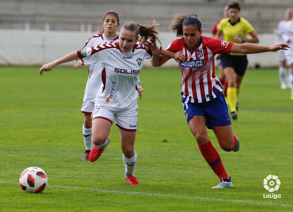 Temporada 2018-2019 | Fundación Albacete - Atlético de Madrid | Andrea Falcón